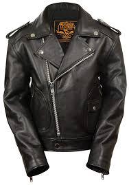 Interstate Leather Jacket Size Chart Milwaukee Leather Boys Updated Jacket Black X Small M C