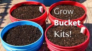 garden bucket. How To Start A Garden In 5 Gallon Bucket