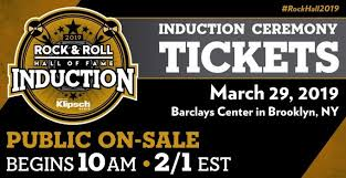 Barclays Center Seating Chart Rock And Roll Hall Of Fame 34th Annual Rock Roll Hall Of Fame Ceremony