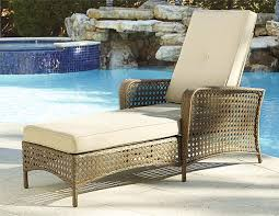 com cosco outdoor living adjule chaise lounge chair lakewood ranch steel woven wicker patio furniture with cushion brown garden outdoor