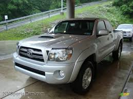 2010 Toyota Tacoma V6 SR5 TRD Sport Access Cab 4x4 in Silver ...