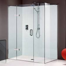matki eauzone plus hinged shower door with hinge and inline panel for corner
