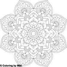 Coloring Page Of A Lotus Flower Ascenseurinfo