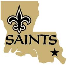 New Orleans Saints. Always support the home team. Nothing like the ...