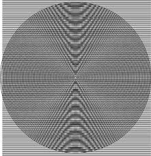 Moire Pattern New Moiré Conic Sections