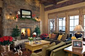 Cabin Style Interior Design Ideas Decorative Lodge Home Decor Christmas Mantel Furniture Ski