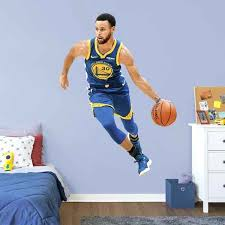 sports wall decals curry life size officially licensed removable wall decal fathead sports wall decals silhouettes