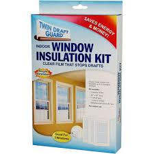 twin draft guard window insulation kit image