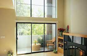 milgard sliding patio door aluminum series 3 panel sliding door in dark bronze anodized milgard sliding milgard sliding patio door