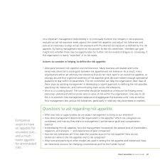 deloitte risk committee guidance 49