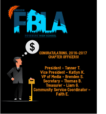 Fbla Graphic Design 2016 Congratulations 2016 2017 Fbla Officers Roseburg High