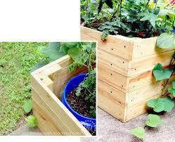 garden enclosure. DIY Container Garden Enclosure