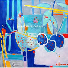 abstract still life oil painting contemporary fruit oil painting for home decoration