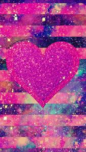 Heart Striped Galaxy Achtergronden Achtergronden Iphone