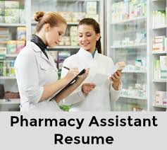 Pharmacist Assistant Resumes Pharmacy Assistant Resume