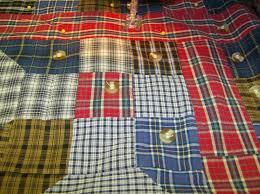 Free Tutorial - Men's Shirt Quilt by Nancy-Rose & Click Image to Enlarge - Adamdwight.com