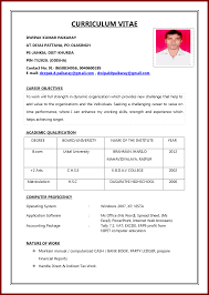 How To Make Job Resume How To Make Professional Resume A Template Printable Format Free 13