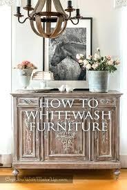 whitewashing wood furniture. How To Whitewash Oak Furniture Wood Whitewashing