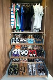 custom shoe storage custom shoe cabinet closet contemporary with shoe wardrobe shoe shelves wood custom made
