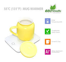 Vigind coffee cup warmer, coffee cup warmer for desk auto shut off 16 watt electric beverage cup warmer,maintains temperatures up to 131°f / 55°c,mug cup warmer for desk for safely use for office/home $11.99$11.99 get it as soon as thu, sep 10 free shipping on your first order shipped by amazon Okcafe Auto Shut Off Coffee Mug Warmer Electric Heat Cup Warmer For Milk Include Yellow Ceramic Mug For Office And Home Use 10 8 Ounce Best Tea Kettles And Tea Pots
