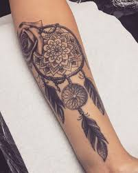 Dream Catcher Tatt 100 Dreamcatcher Tattoos For Men And Women 100 Page 100 Of 100 36