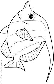 Kleurplaat Dieren Balık Fish Coloring Page Coloring Sheets En