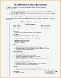 Recent College Grad Resume Samples Resume For Recent College Graduate Template Sample Pdf Recent
