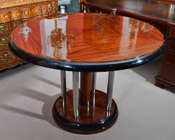 deco dining table round art deco dining table