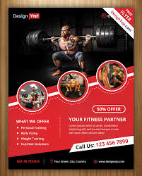 18 Gym And Fitness Flyer Psd Free Download Designyep