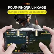 pubg mobile cell phone game controller fire on key gamepad shooter trigger l1r1 pubg fire ons for iphone android ios gaming controller for pc joypad