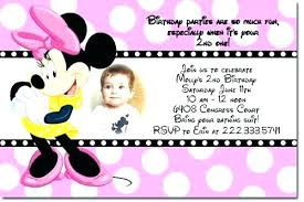 Minnie Mouse Invitation Template Download Online Printable