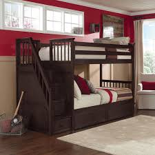 Make going to bed fun for your kids with this School House Stair Bunk from  NE
