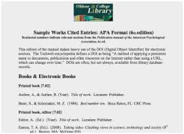 Work Cited Page Sample Turabian Chicago Works Cited Page Citing