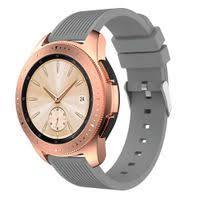 WLG Universal <b>Silicone Sports</b> Band Watch Strap <b>22mm</b> Grey | Buy ...