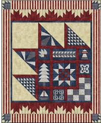 Purely Canadian Quilt Pattern | Quilts By Jen & Stars and Stripes Quilt Pattern Adamdwight.com