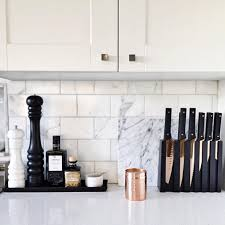 white and black kitchen decor. Brilliant Kitchen Thereu0027s Just Something About The Marble And Black White With White And Black Kitchen Decor