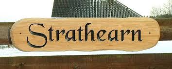 strathearn house signs strathearn