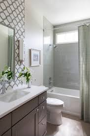 Fully Tiled Bathroom This Small Guest Bathroom Packs In A Lot Of Style With A Fully