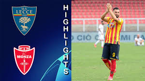 Lecce vs Monza 3-0 Highlights