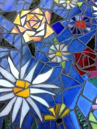 stained glass mosaic kits vintage windows glue