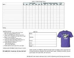 Free Online Order Form Template Website Order Form Template