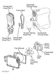 1990 daihatsu charade serpentine belt routing and timing belt diagrams rh 2carpros 1992 daihatsu charade