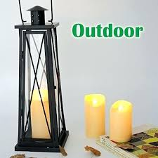 candle choice 3 outdoor candles with timer led pillar weatherproof battery operated long life flameless decorating