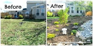 backyard landscape designs on a budget. Plain Backyard Wonderful Sloped Backyard Ideas On A Budget Landscape Designs Landscaping O