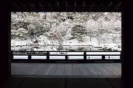 縁結びで有名な八坂神社に雪景色の嵐山京都おすすめ冬デート