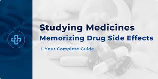 How To Memorize Drug Side Effects Pharmafactz