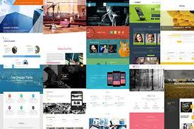 Parallax Website Template Stunning Responsive Parallax Website Template Popteenus