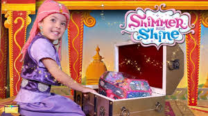 shimmer and shine in real life treasure chest genie toys kids dress up shimmer costume irl you