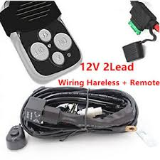 12v lead 40a remote control wiring harness kit switch relay led work image is loading 12v lead 40a remote control wiring harness kit