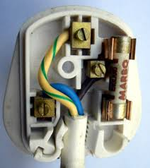 s fun international mains plugs and sockets hackaday a bs1363 plug its cover removed at the top earth bottom left